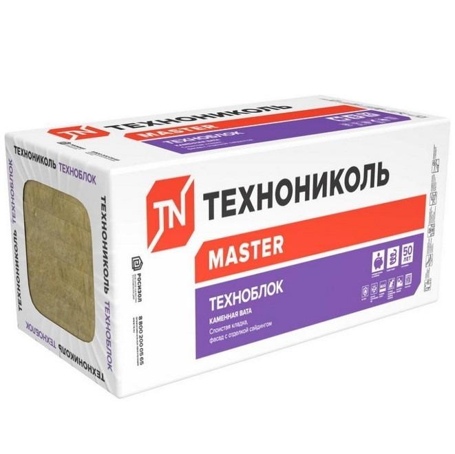 Базальтовая вата Технониколь Техноблок Стандарт 1200х600х100 мм 6 плит в упаковке