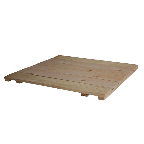 Щит деревянный для строительных лесов 0,6x1 м