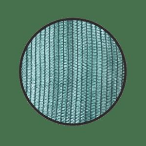 Сетка фасадная зеленая 120 г/м2