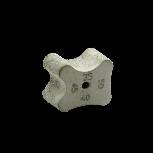Фиксатор бетонный  бабочка & кость  35х40х45х50